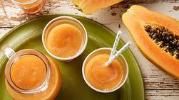 Papaya and Banana Smoothies