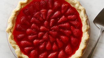 Retro Jello Strawberry Pie