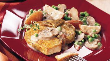 Pork Chop Supper