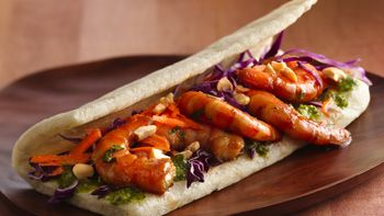 Citrus-Shrimp Wraps