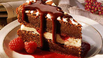 Double-Chocolate Fantasy Torte