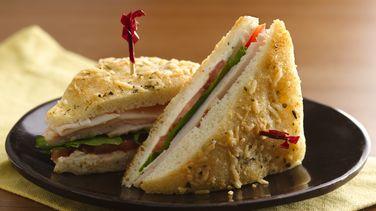 Mini Focaccia Sandwiches