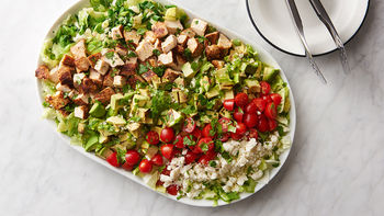 Grilled Chicken Guacamole Chopped Salad