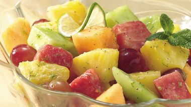Honey-Lime Fruit Salad (Crowd Size)