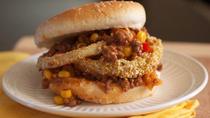 BBQ Sloppy Joe Burgers