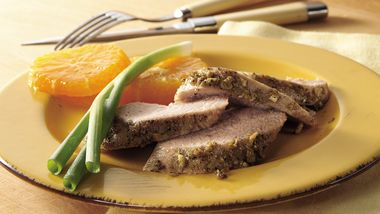 Italian Roasted Pork Tenderloin
