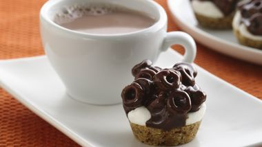 Chocolate Cheerios® Marshmallow Bites