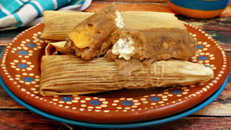 Guava Tamales with Cheese