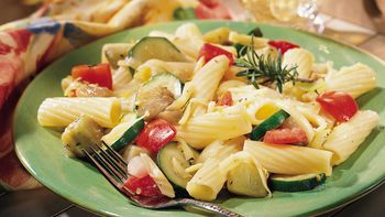 Rigatoni and Grilled Vegetables