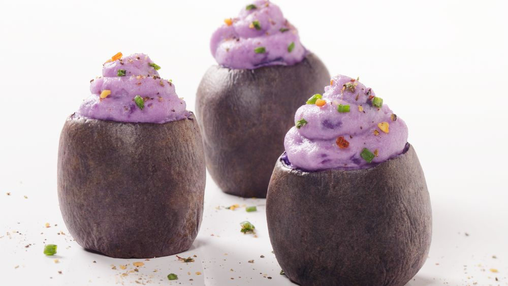 Purple Potato Bites
