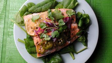 Spicy Salmon en Papillote