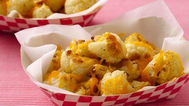 Cheddar Cauliflower Popcorn