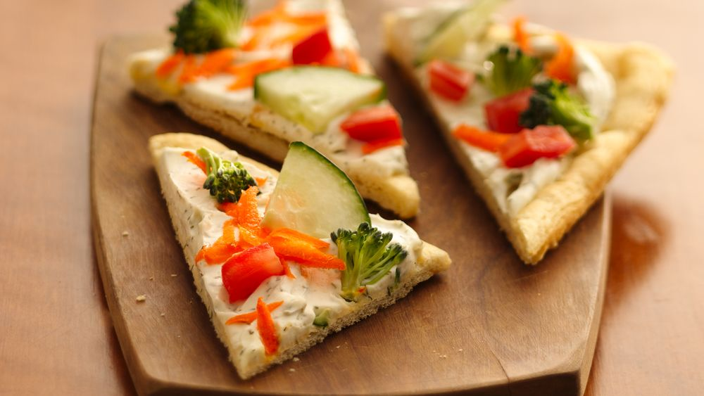 Easy Crescent Veggie Pizza