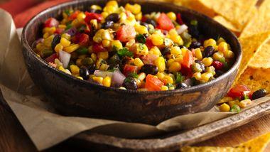 Black Bean and Roasted Corn Salsa
