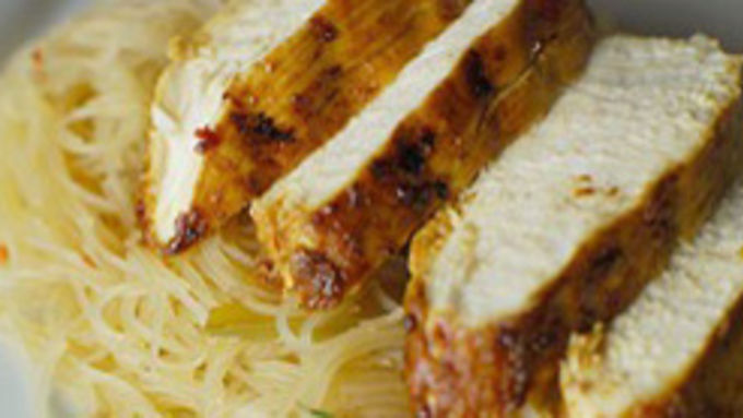 Thai Red Curry-Marinated Chicken
