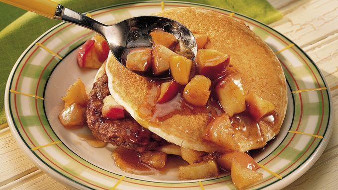 "Pancake and ""Sausage"" Stacks"