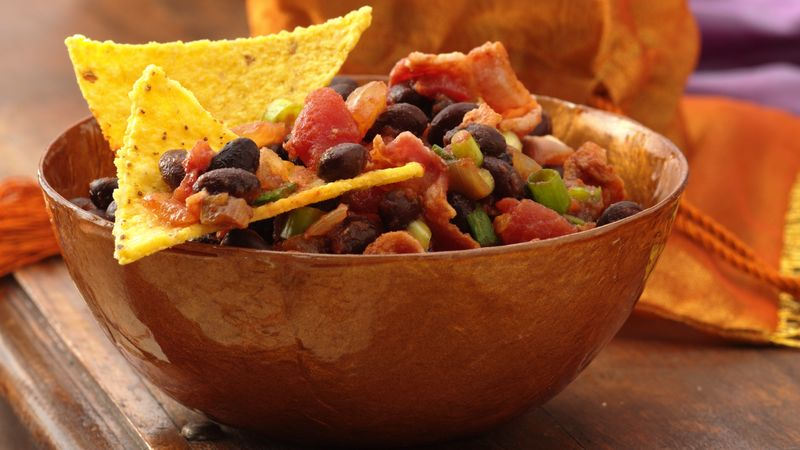 Gluten-Free Salsa And Black Bean Dip