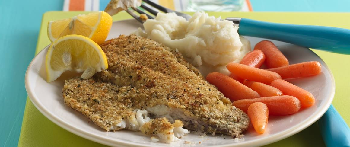 Crispy oven baked fish for Crispy baked whiting fish recipes
