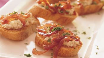 Caramelized-Onion Bruschetta