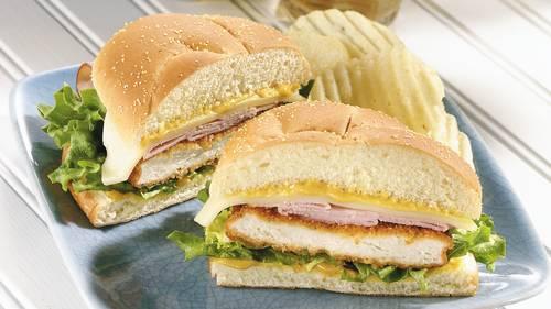 Cordon Bleu Sandwiches image