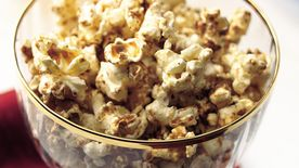Gingerbread Popcorn Snack