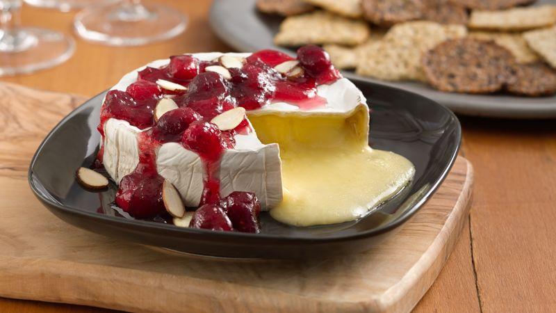Cranberry Topped Brie Recipe Bettycrocker Com