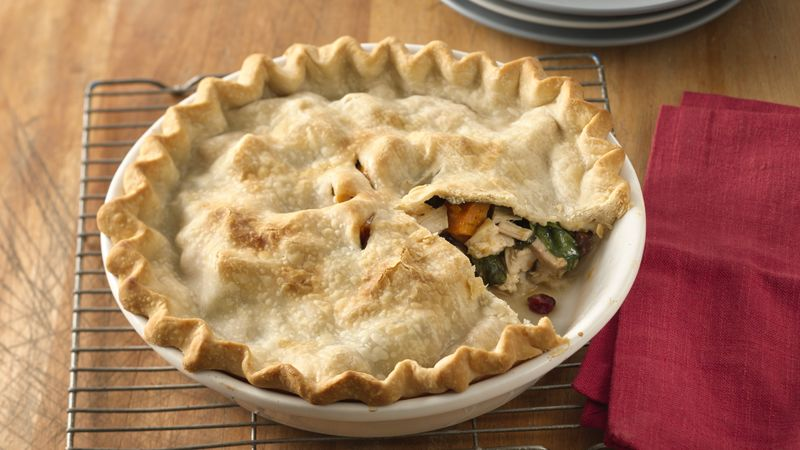 Cranberry-Chicken Pot Pie