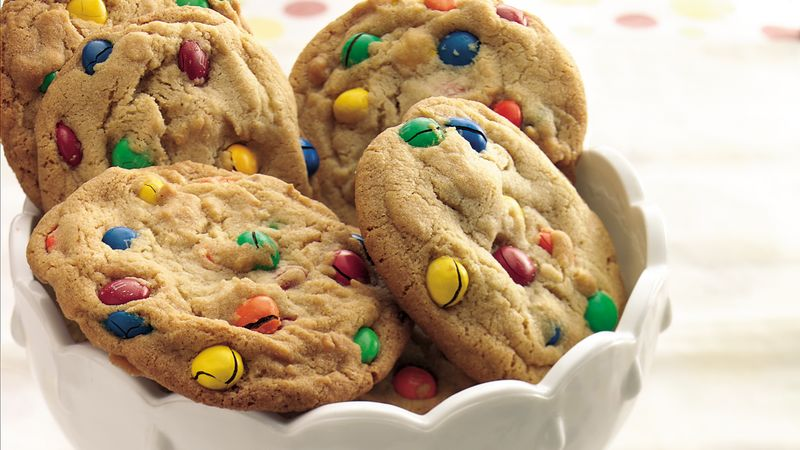 Giant Polka Dot Cookies Recipe Bettycrocker Com