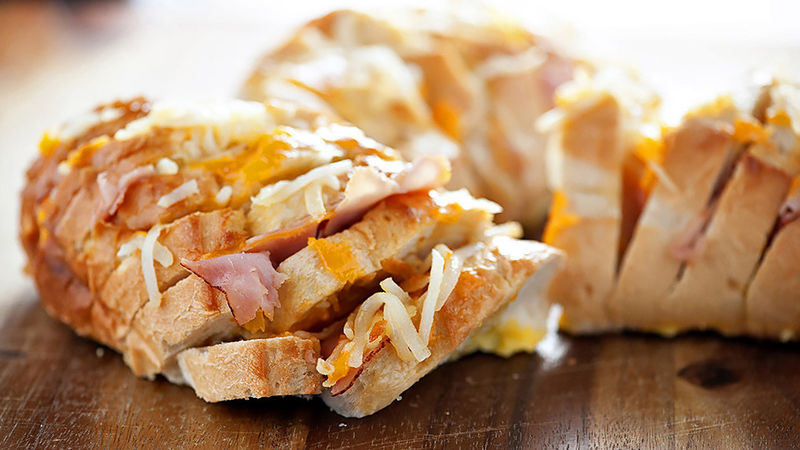 Ham, Cheese and Egg Brunch Pull-Apart