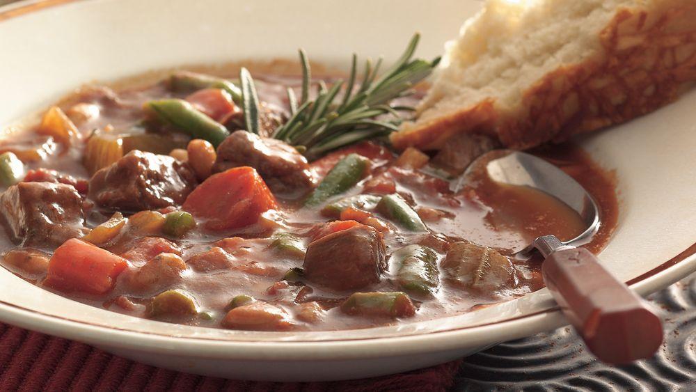 Slow-Cooker Italian Beef Stew