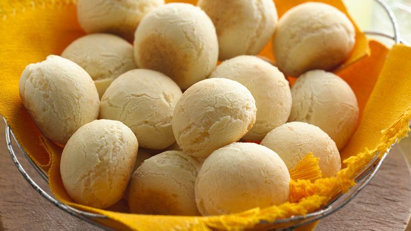 Pão de Queijo (Panecitos Brasileños de Queso)