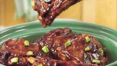 Saucy Barbecued Ribs