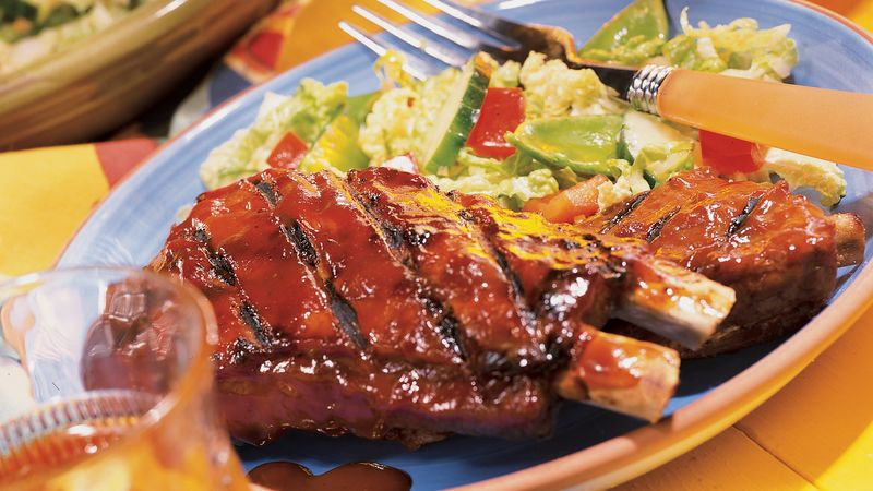 Plum Good Pork Ribs