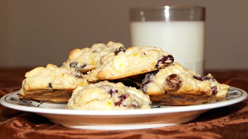 Cranberry Oatmeal Cookies: Step by Step