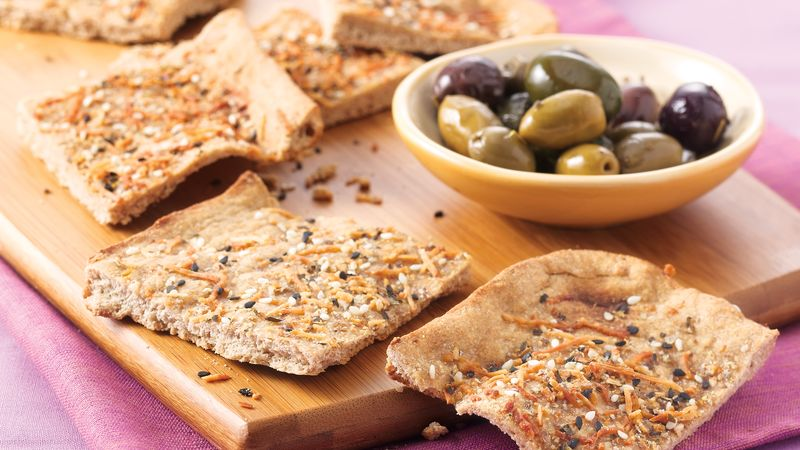 Three-Seed Flatbread