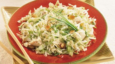 Light Asian Cabbage-Chicken Salad