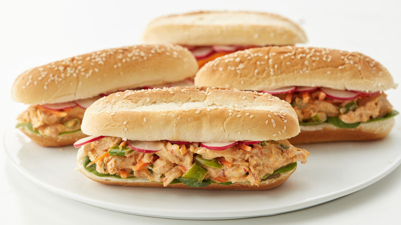 Asian Chicken Salad Subs