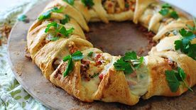 Chicken Club Crescent Ring