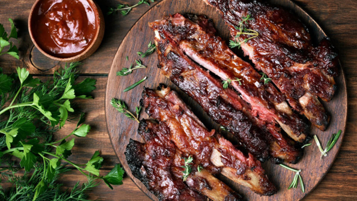 Chipotle Salsa Ribs