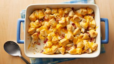 Chicken-Bacon-Ranch Bubble-Up Bake