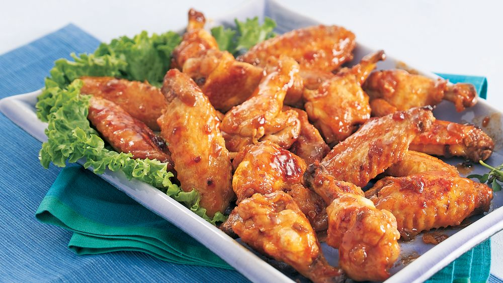 Cinco de Mayo Glazed Chicken Wings