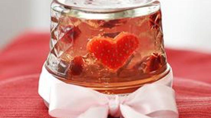 Valentine Snow Globe Jello Shots
