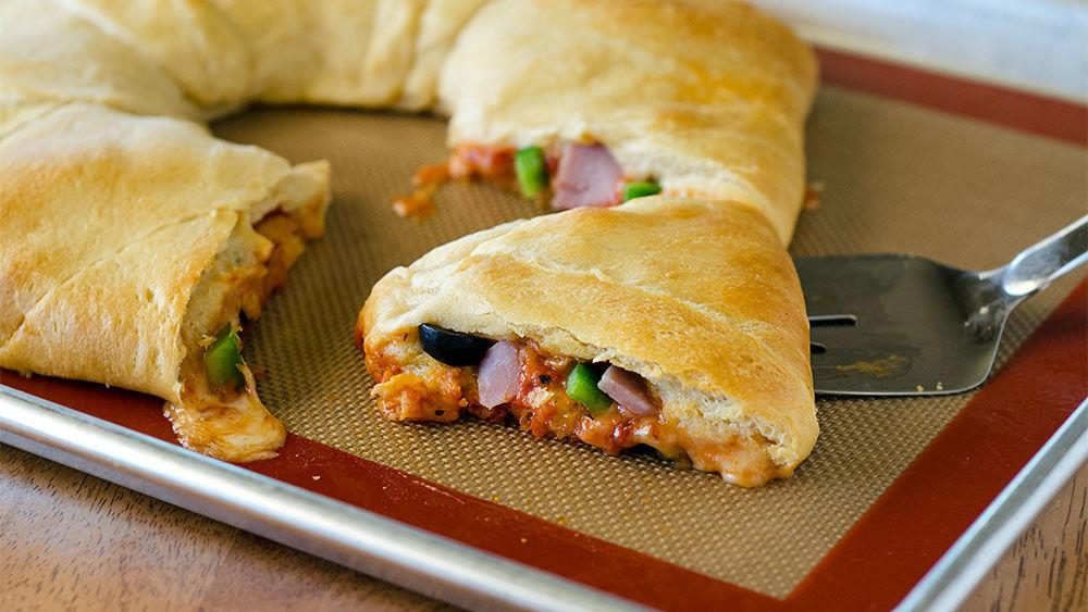 Pizza Crescent Roll Ring Recipes
