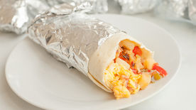 Freezer-Friendly Denver Omelet Breakfast Burritos