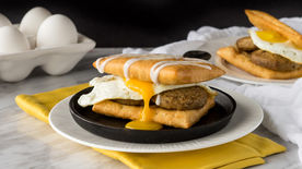 Sausage and Egg Strudel Sandwiches