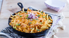 Skillet Chili-Cheese Fry Bake