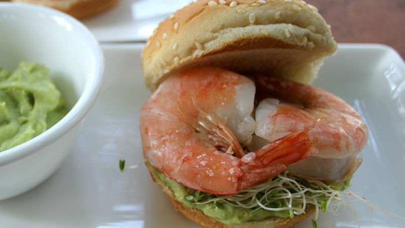 Shrimp Hamburgers