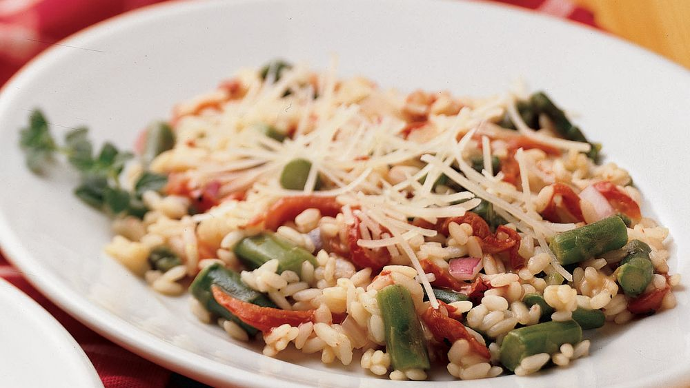 Easy Risotto with Asparagus