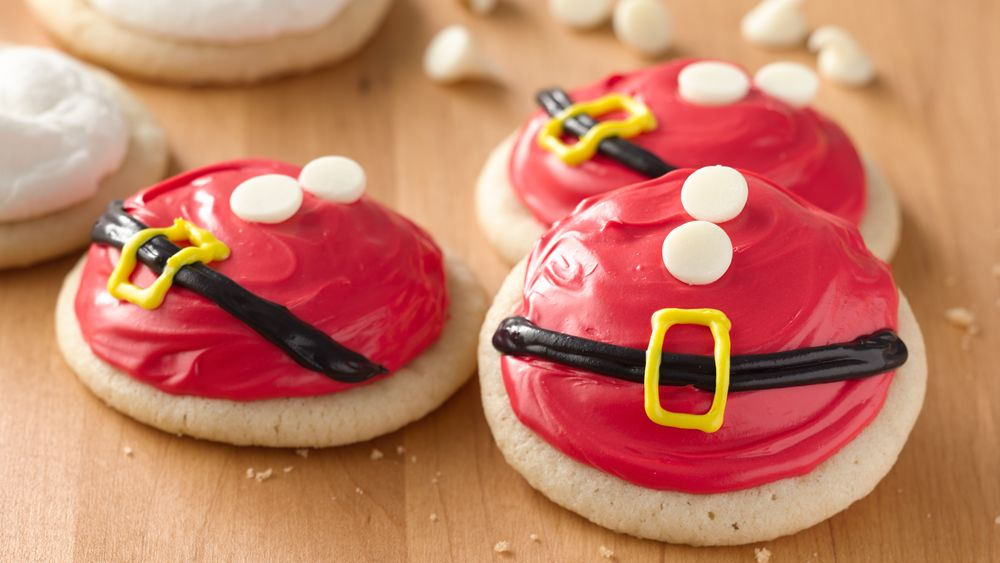 Santa's Belly Cookies