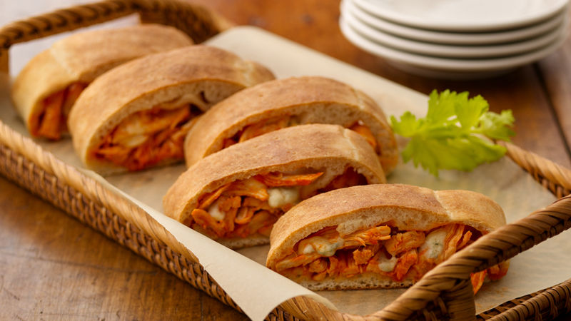 Buffalo Chicken Stromboli Recipe Pillsburycom